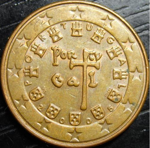 5 євроцентів 2005 Португалія