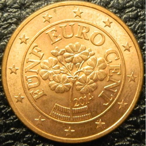 5 євроцентів 2014 Австрія