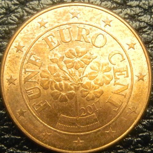 5 євроцентів 2017 Австрія