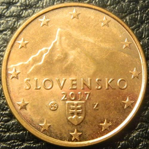 5 євроцентів 2017 Словаччина