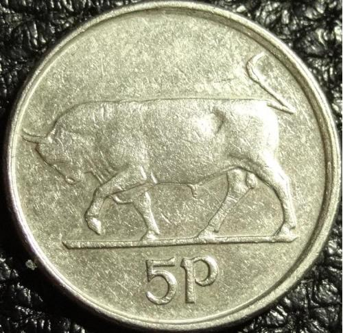 5 пенсів 1993 Ірландія