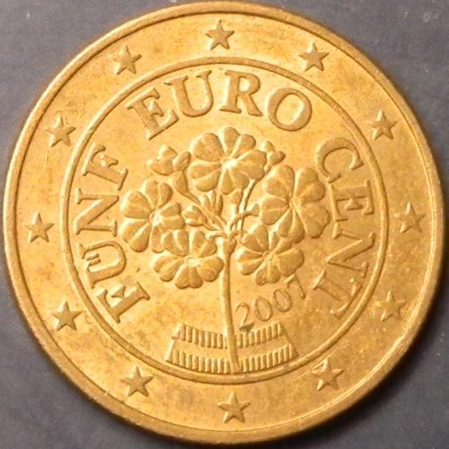 5 євроцентів 2007 Австрія