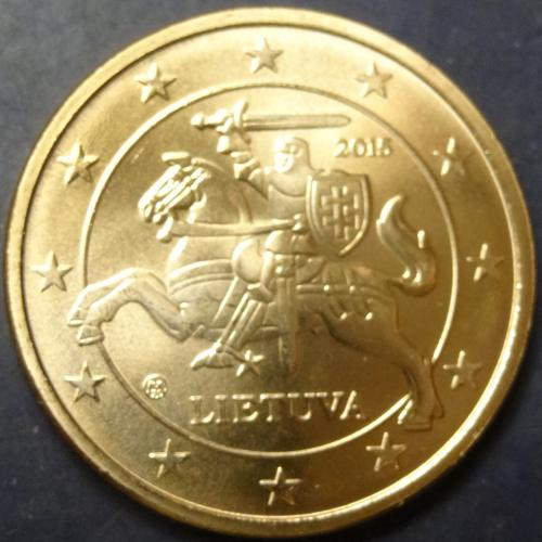 5 євроцентів 2015 Литва UNC