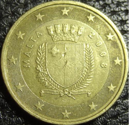 50 євроцентів 2008 Мальта