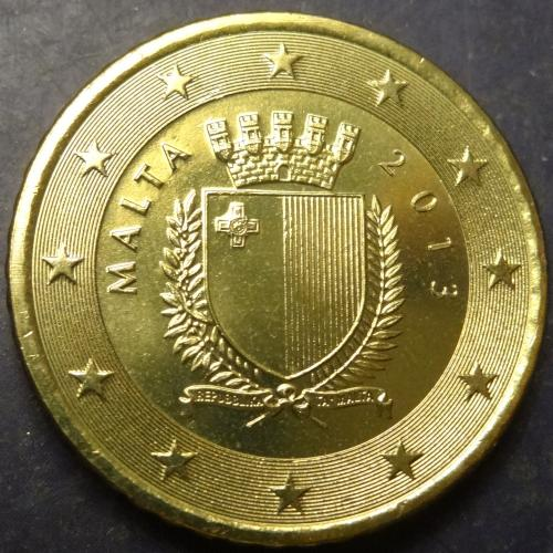 50 євроцентів 2013 Мальта UNC
