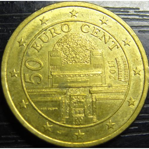 50 євроцентів 2017 Австрія