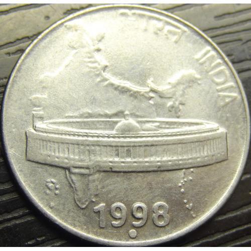 50 пайсів 1998 Індія (крапка)
