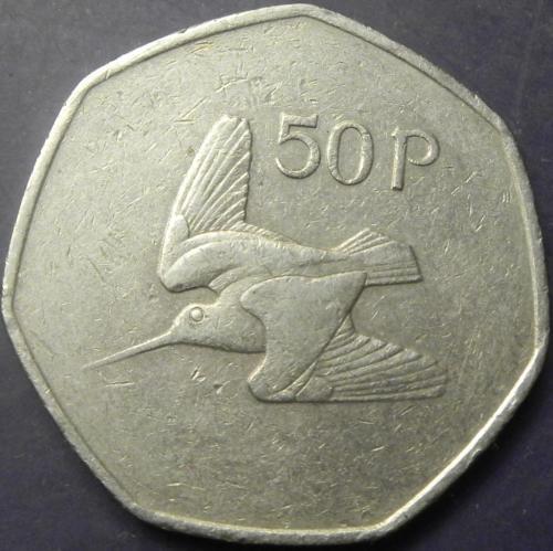 50 пенсів 1983 Ірландія