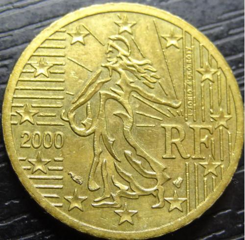 50 євроцентів 2000 Франція