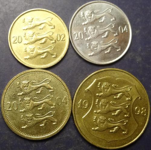 Монети Естонії (до євро)