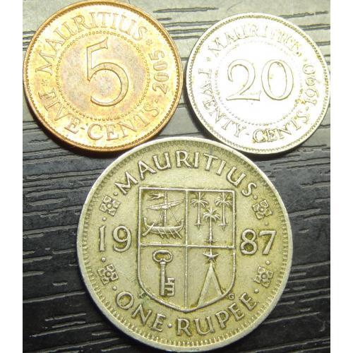 Монети Маврикію