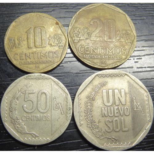 Монети Перу (новий соль)