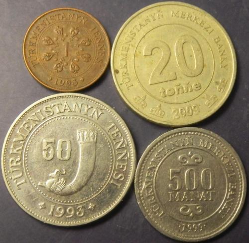 Монети Туркменістану