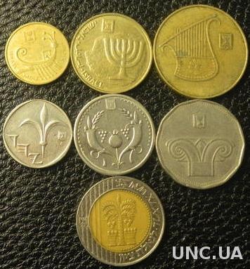 Комплект монет Ізраїля