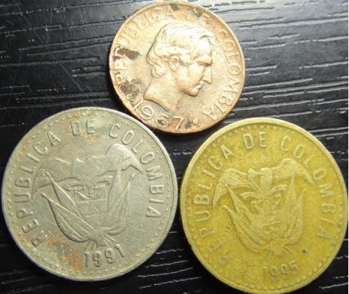 Монети Колумбії