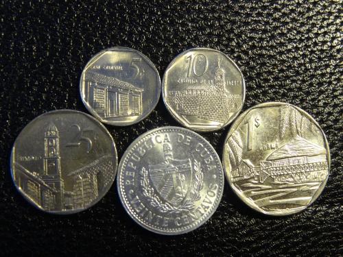 Комплект монет Куби