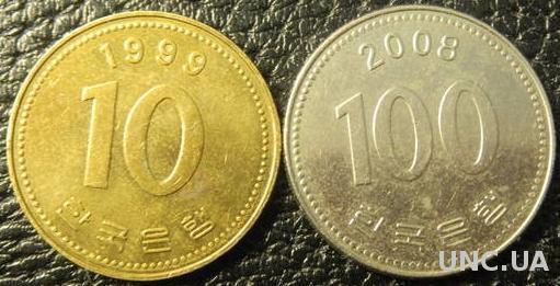 Монети Південної Кореї
