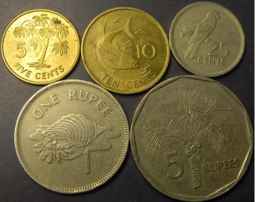 Комплект монет Сейшельських островів