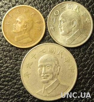 Монети Тайваню