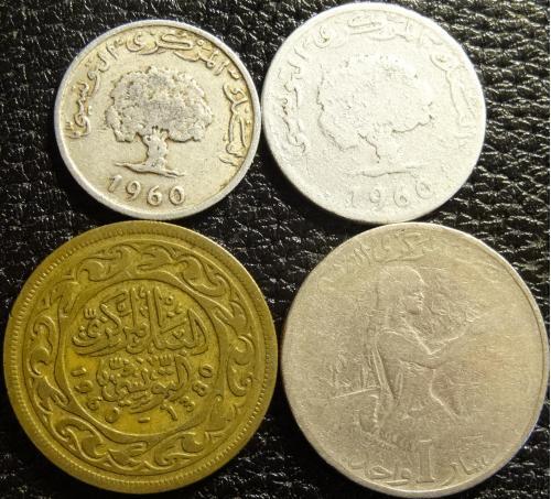 Монети Тунісу