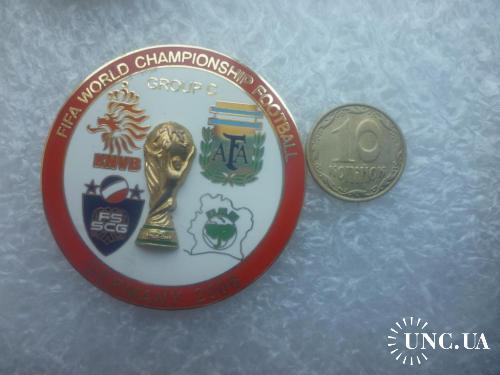 Футбол. Чемпионат мира 2006. Аргентина, Нидерланды, Сербия и Черногория, Кот-д`Ивуар