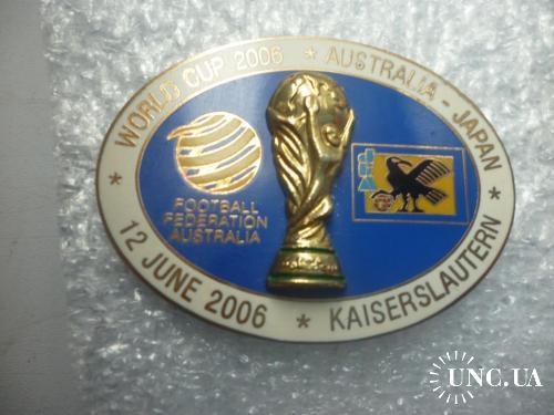 Футбол. Чемпионат мира-2006. Австралия-Япония