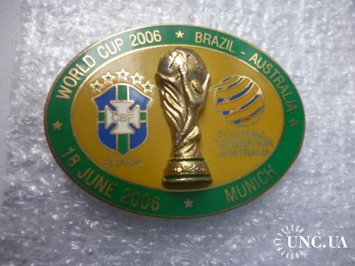 Футбол. Чемпионат мира-2006. Бразилия-Австралия