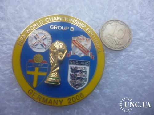 Футбол. Чемпионат мира 2006. Парагвай, Швеция, Англия, Тринидад и Тобаго
