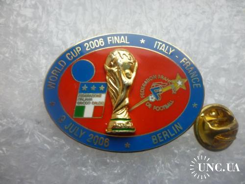 Футбол. Чемпионат мира 2006 в Германии. ФИНАЛ. Сборная Италии - Сборная Франции