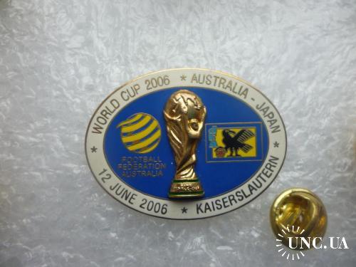 Футбол. Чемпионат мира 2006 в Германии. Сборная Австралии - Сборная Японии