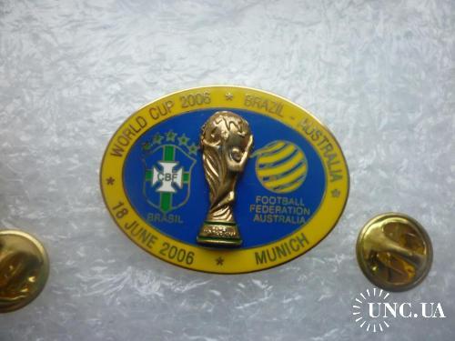 Футбол. Чемпионат мира 2006 в Германии. Сборная Бразилии - Сборная Австралии