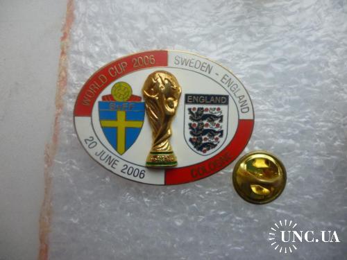 Футбол. Чемпионат мира 2006 в Германии. Сборная Швеции - Сборная Англии