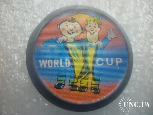 Футбол. Чемпионат мира по футболу 1974 г. переливной