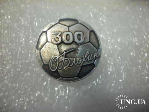 Футбол. Олег Блохин -300 голов за карьеру