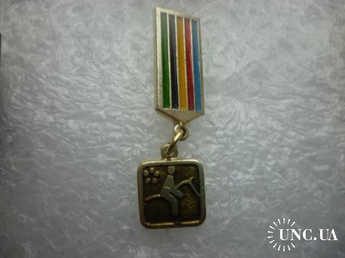 Олимпийские игры. Москва-1980 .Пятиборье ( редкая серия )
