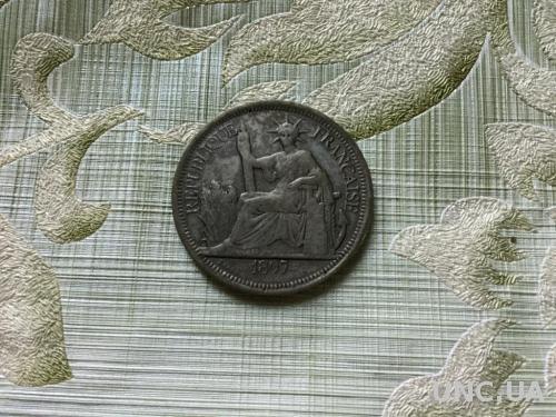 Французский Индокитай, 1 пиастр 1897 г. Копия