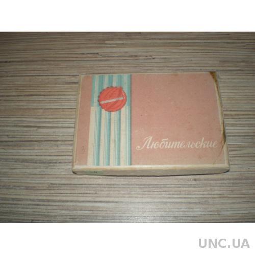 Любительские коробка от папирос1980е