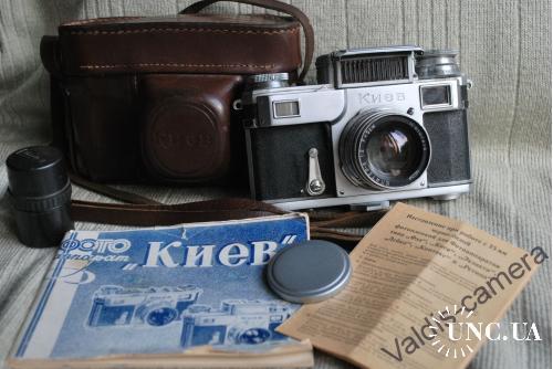 Фотоаппарат КИЕВ-3 № 092, Юпитер-8 КМЗ, выпуск 1951 года.