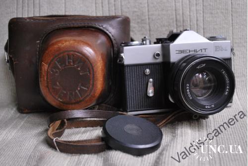 Фотоаппарат Зенит - ВМ,  № 000495, выпуск 1973 год, Гелиос-44М № 00632