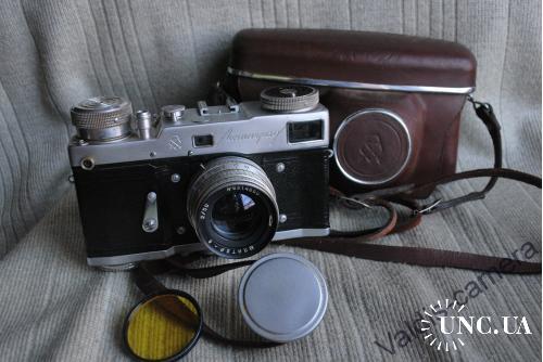 Rare, Редкий, фотоаппарат Ленинград, Юпитер-8, ЛОМО, 1963 г. ( № 636788). №2