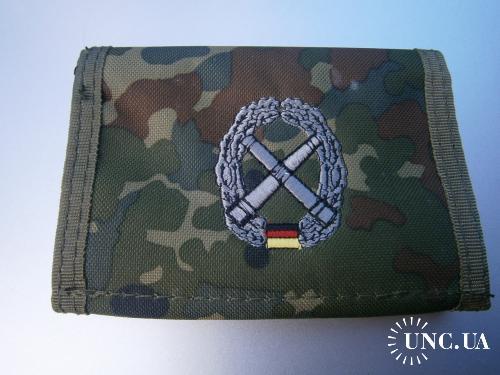 Бумажник армейский. Бундесвер, части артиллерии, флектарн.