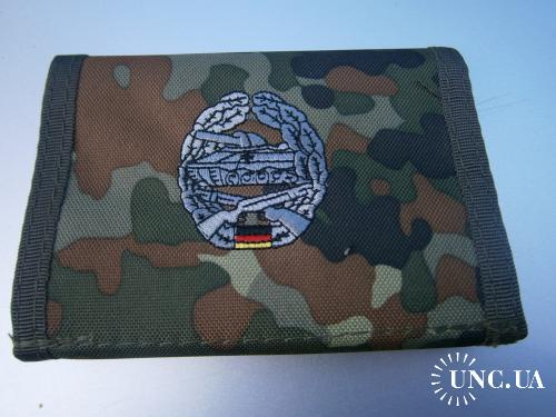 Бумажник армейский. Бундесвер, мотострелковые части, флектарн.