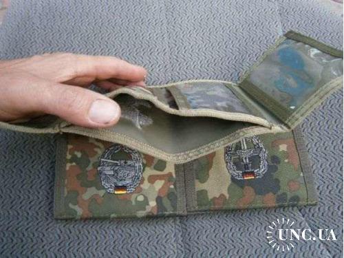 Бумажник армейский. Бундесвер, подразделения охраны аэродромов ВВС НАТО  , флектарн.
