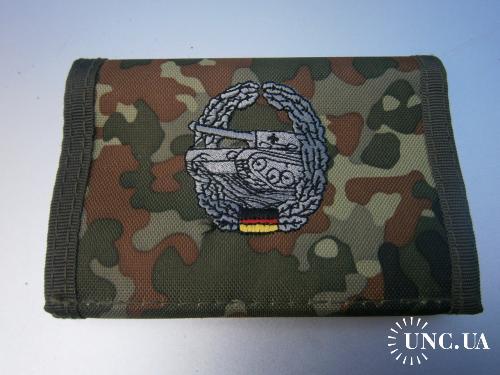Бумажник армейский. Бундесвер, танковые войска, флектарн.