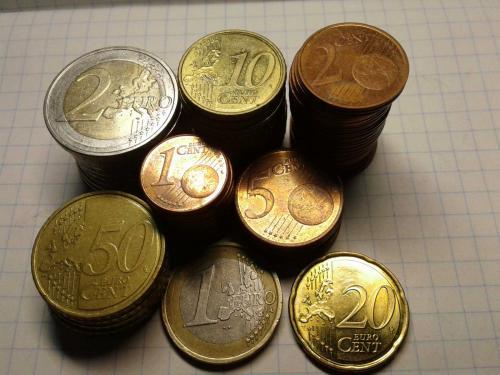 63 монеты Европы разных номиналов и годов