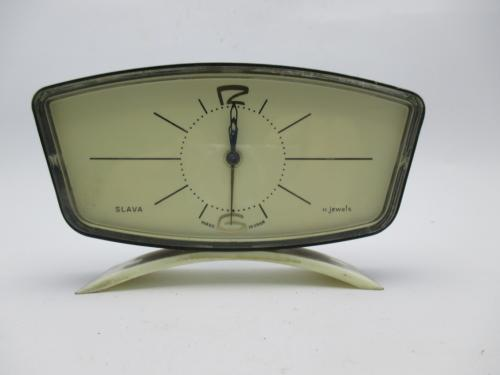 Часы настольные Будильник Слава