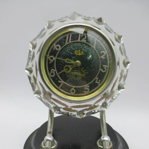 Часы настольные Маяк хрусталь №3