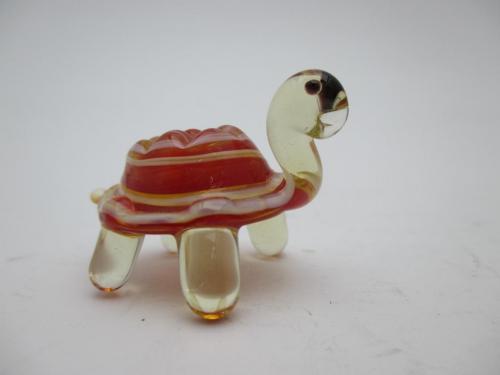 Фигурка цветное стекло Черепаха