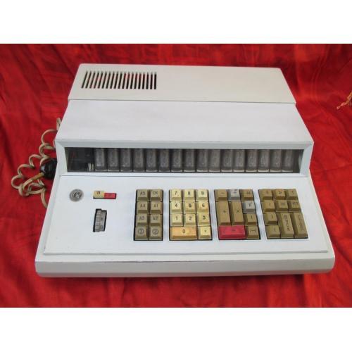 Калькулятор ЭКВМ Искра 123 СССР