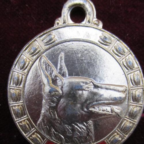 Кинологическая медаль жетон